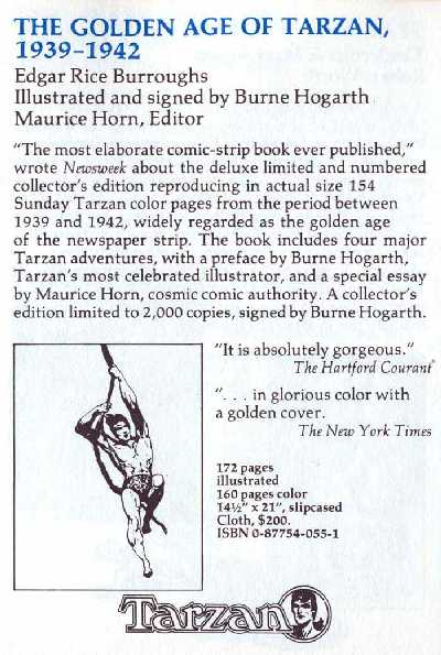 TARZAN BY HOGARTH PUBLISHED BY CHELSEA HOUSE PUBLISHERS