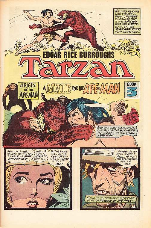 TARZAN BY JOE KUBERT